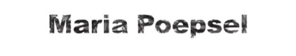 Maria Poepsel