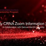 Diversity CRNA Zoom Information Session - 7.11.2020 - Cover