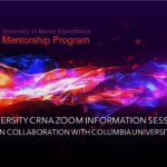 Diversity CRNA Zoom Information Session in Collaboration with Columbia University - 9.19.2020 - Cover White