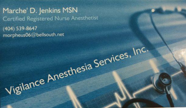 Vigiliance Anesthesia 2