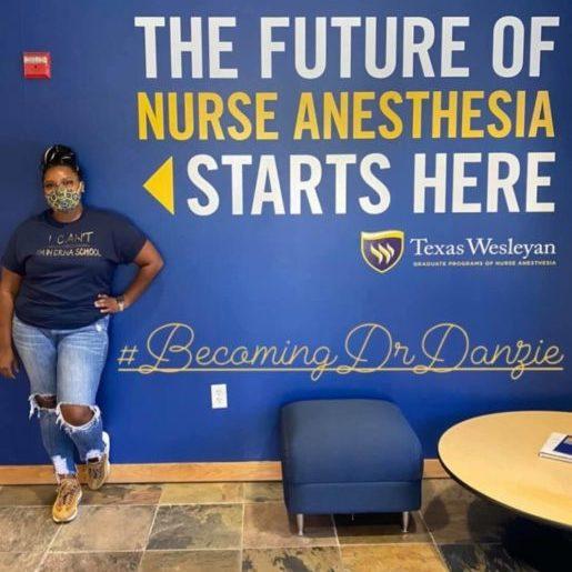 y'Keela Danzie, Accepted Texas Wesleyan University